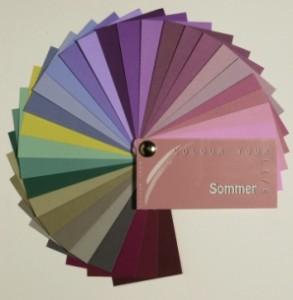 die richtigen farben f r den farbtyp sommer. Black Bedroom Furniture Sets. Home Design Ideas